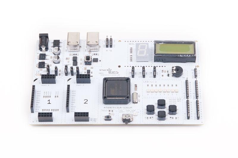 SB-004 V1.06: 8051 Mikrocontrollerboard mit AT89C5131A-S3SUM