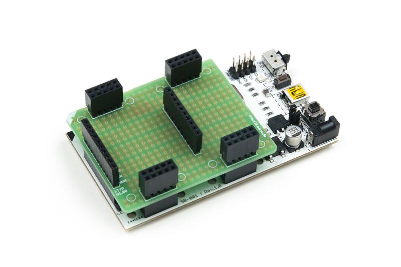 Rasterplatine LR010 mit MC Board