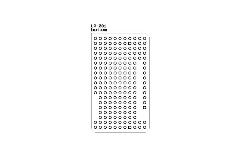 stack2Learn Rasterplatine LR01