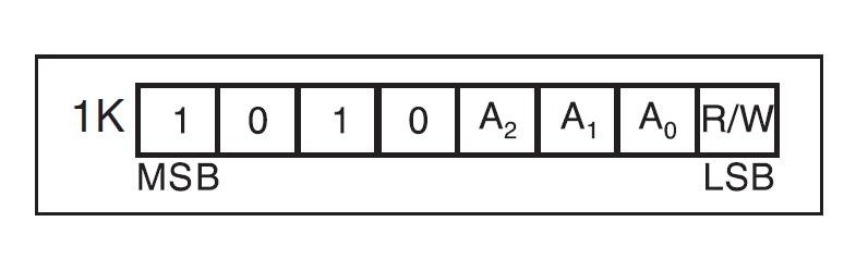 I2C-006 AT24C01B EEPROM Modul