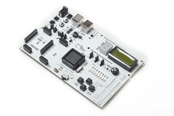 8051 Mikrocontrollerboard mit AT89C5131A-S3SUM – SB-004 V1.07